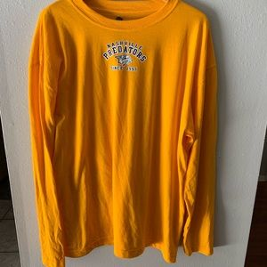 NHL Nashville Predators Long sleeve T shirt